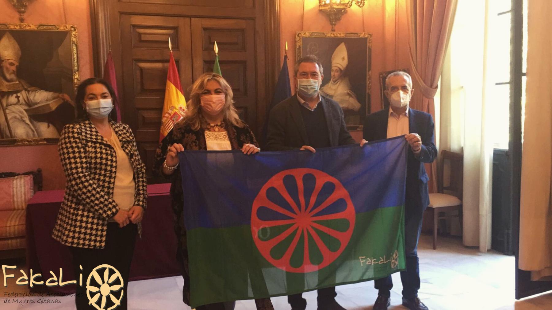 alcalde reunion bandera fakali 20 noviembre 2020