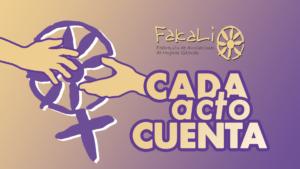 """""""CADA ACTO CUENTA"""""""